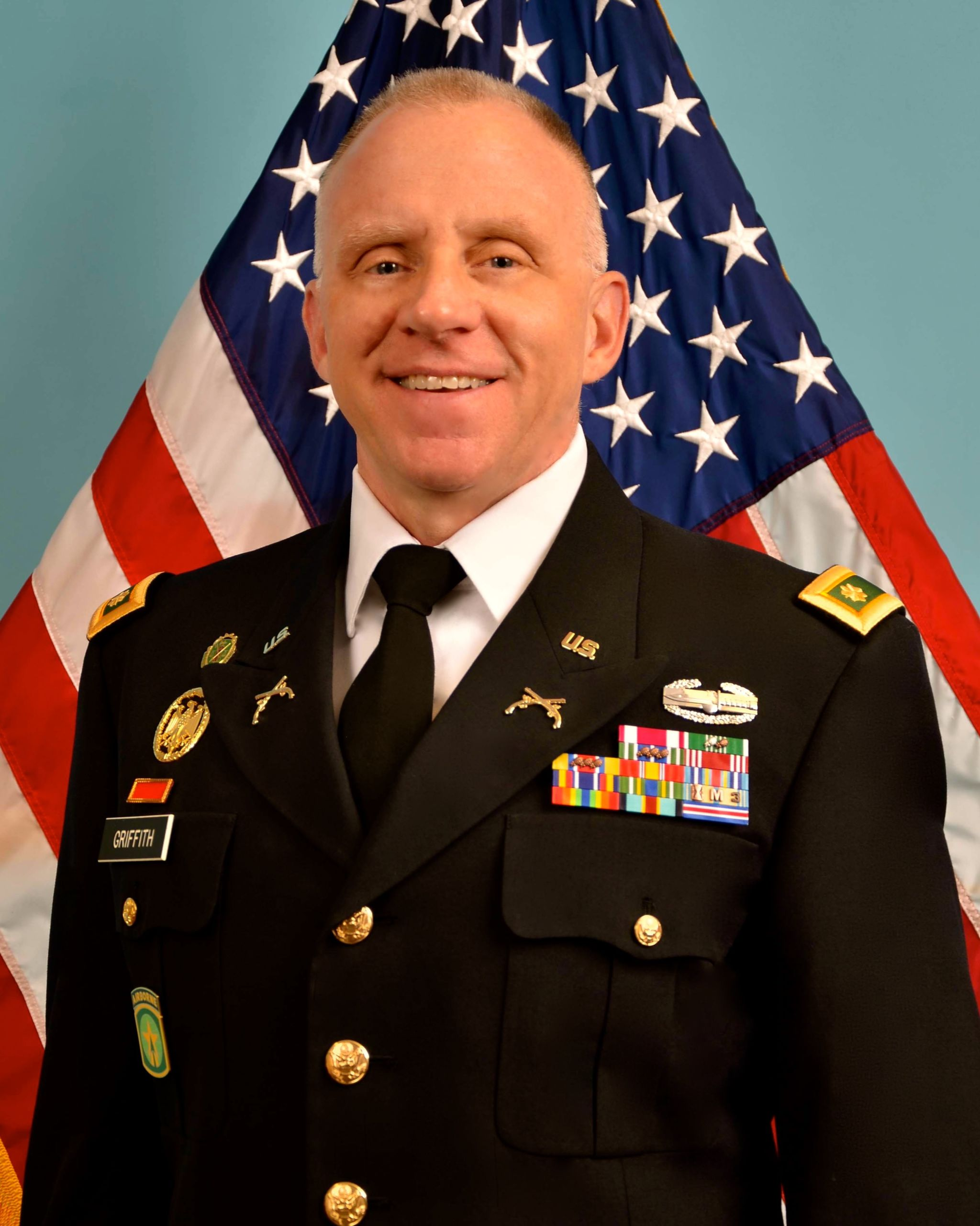 MAJ(R) Todd Griffith, US Army